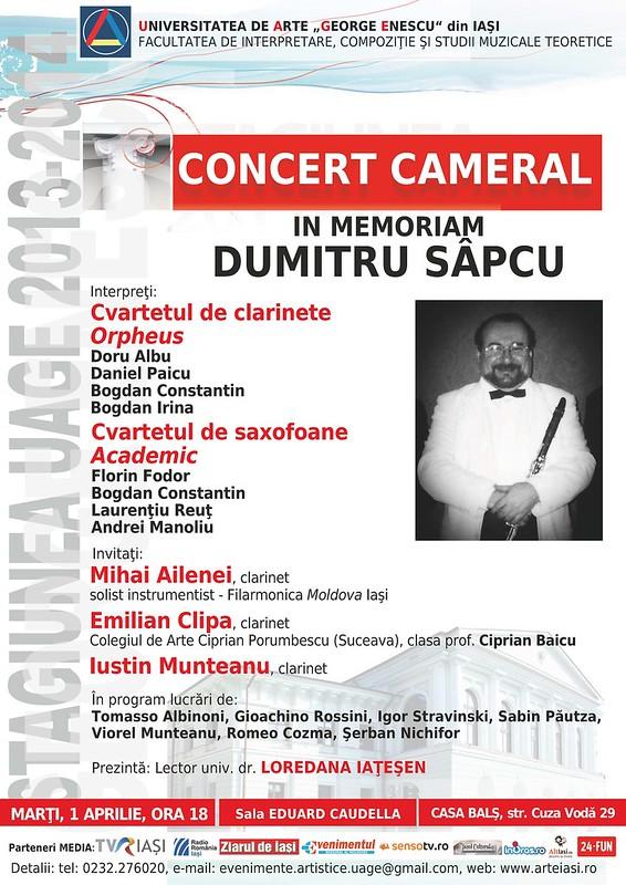 2014.04.01.Concert cameral In memoriam Dumitru Sapcu