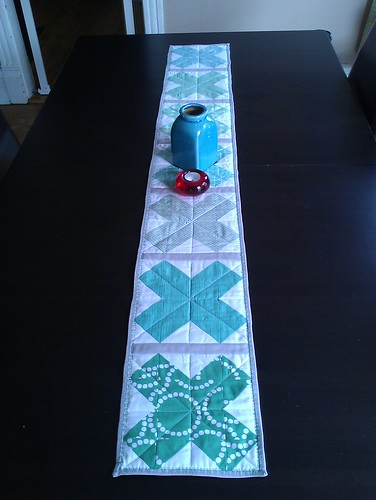 mad about patchwork table runner tutorial