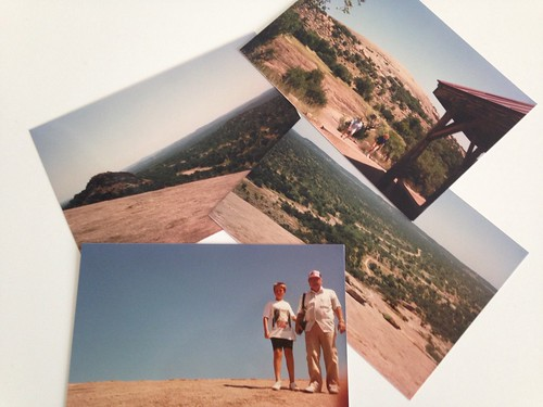 Enchanted Rock. Texas. Years Ago.