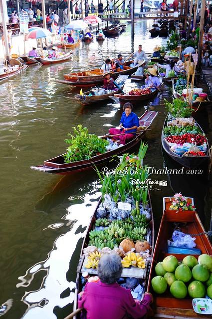 Day 4 Bangkok, Thailand - Damnoen Saduak Floating Market 02