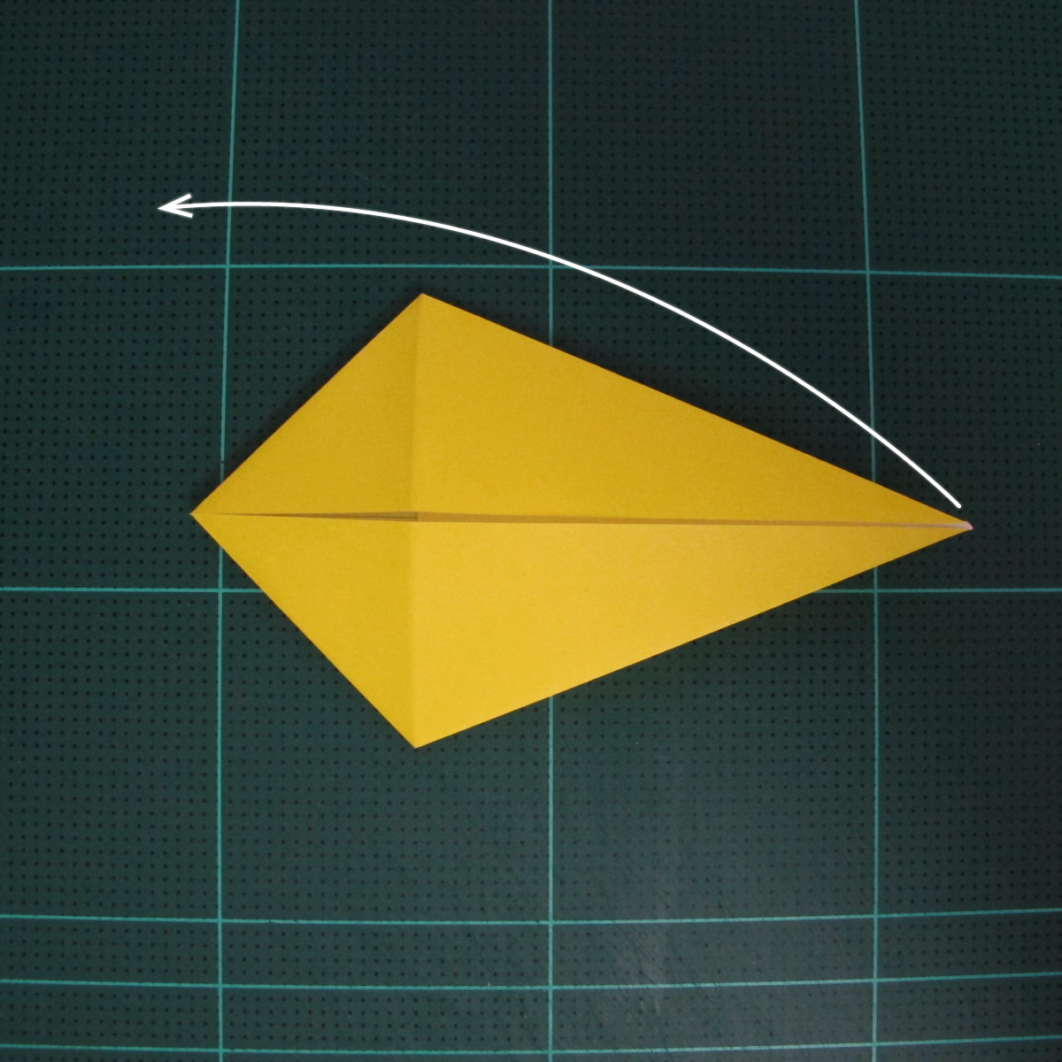 การพับกระดาษเป็นรูปไก่ (Origami Rooster) 002