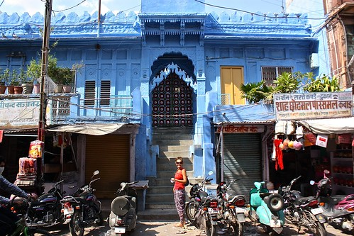 Jodhpur, the blue city in India