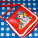 Verokitschy posted a photo:	Small showa era style bag from my childhood :)
