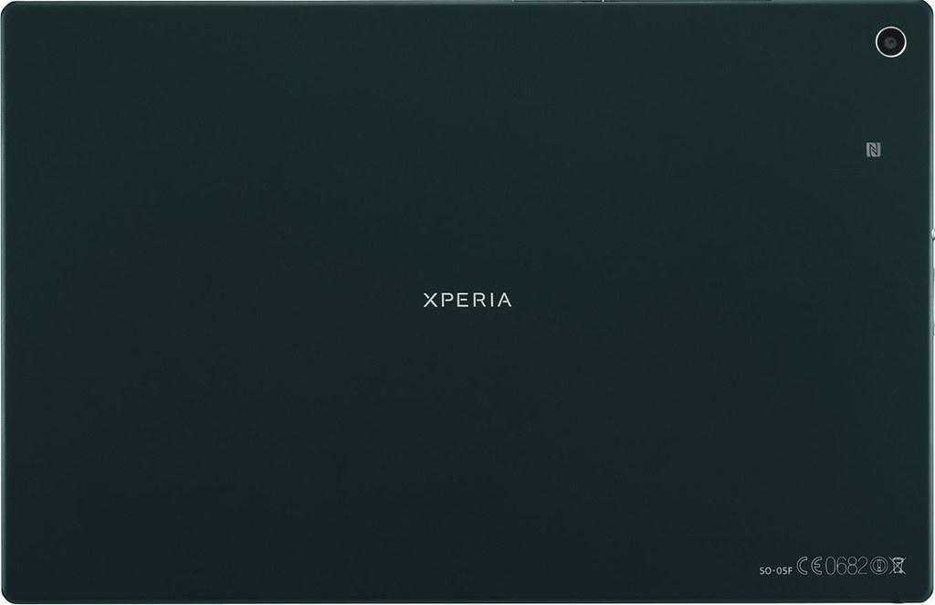 Xperia Z2 Tablet SO-05F 実物大の製品画像2