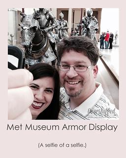 NYC Selfie Met Museum Armory
