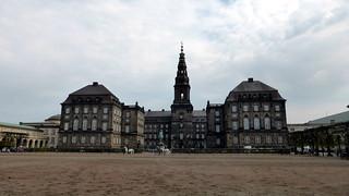 Image of Christiansborg Palace near Copenhagen. copenhagen palace københavn