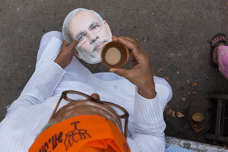 Modi and tea