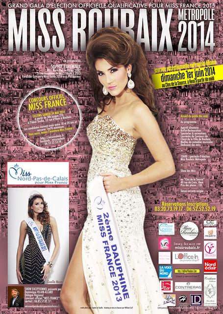 Miss Roubaix Métropole 2014