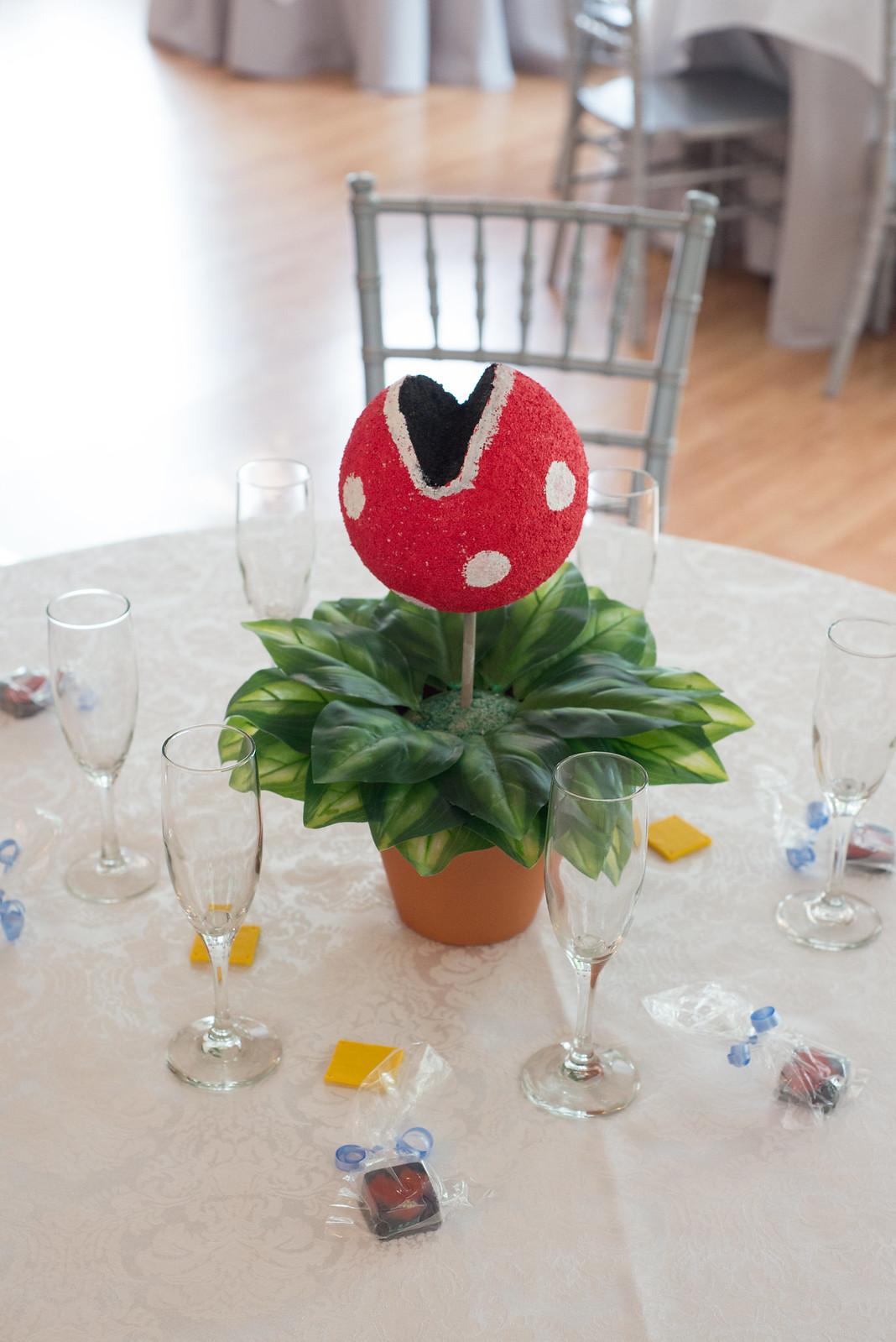 Super Mario Bros. Piranha Plant Centerpiece