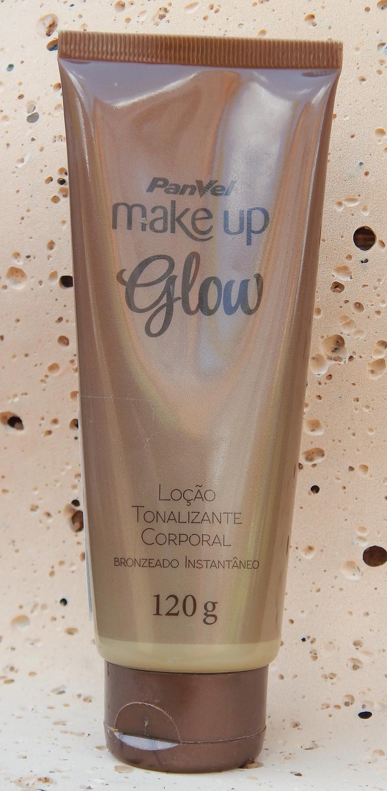 Loção Tonalizante Glow  Panvel Makeup- Resenha