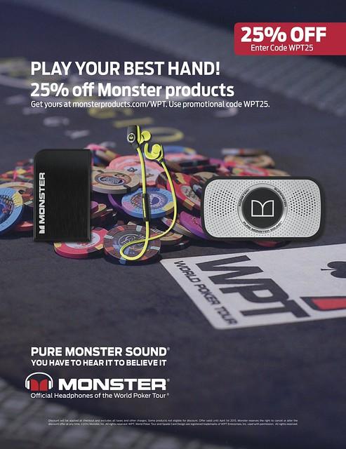 Monster - WPT25 Promo