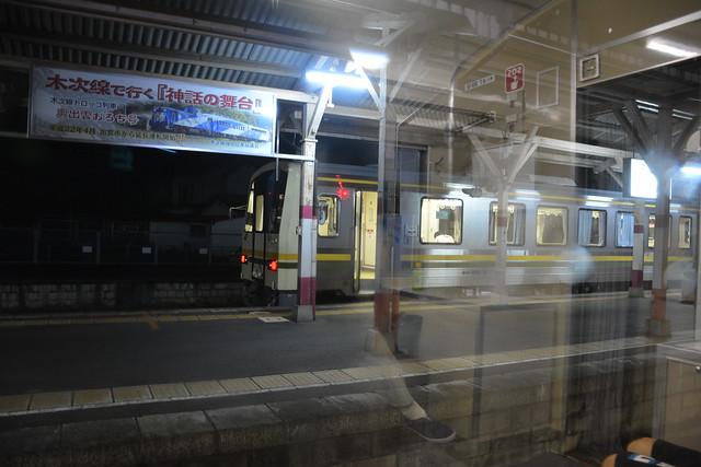 宍道駅:木次線普通列車
