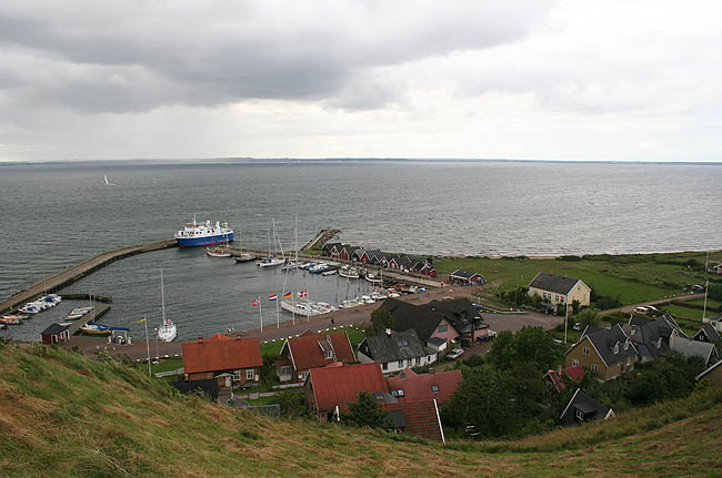 Vista de Kyrkbacken desde la iglesia de S:t Ibbs. © Paco Bellido, 2007