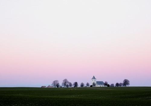 trees denmark landscapes dusk sony churches scandinavia jutland jylland hx50