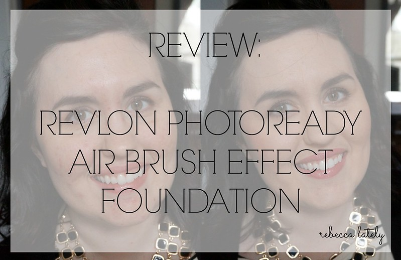 Revlon Photoready Air Brush Foundation Review 2