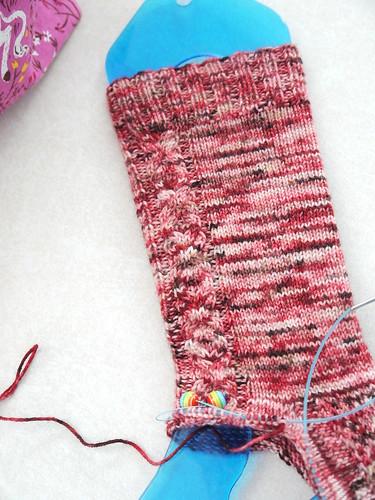 XO / birthday socks