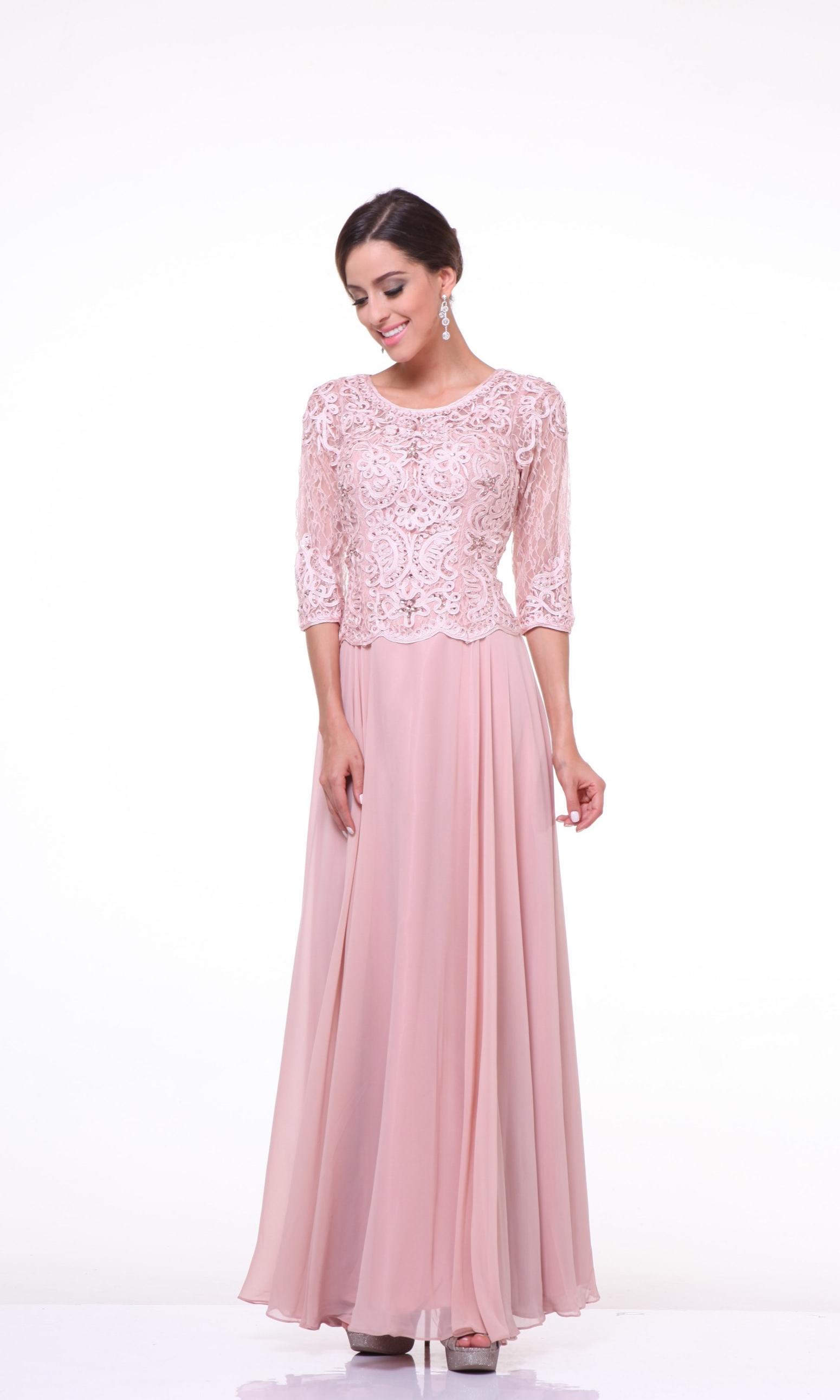 Trendy Mother Of The Bride: Modest Elegant Mother Of The Bride Dress Lace Hijab