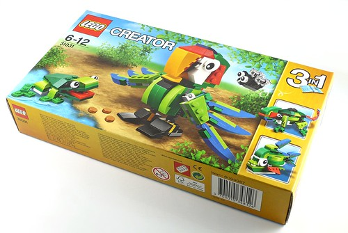 LEGO Creator 31031 Rainforest Animals box01