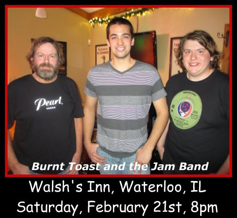 Burnt Toast and the Jam Band 2-21-15