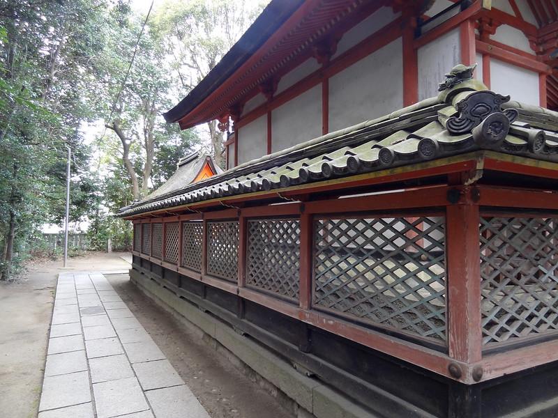 荒見神社(Arami-jinja Shrine) / 本殿(裏)