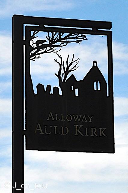 Auld Kirk sign  GJC_016277