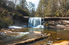 French Broad Falls - North Fork French Broad River