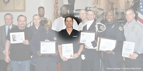 Corrections employees honored for job performance, years of service