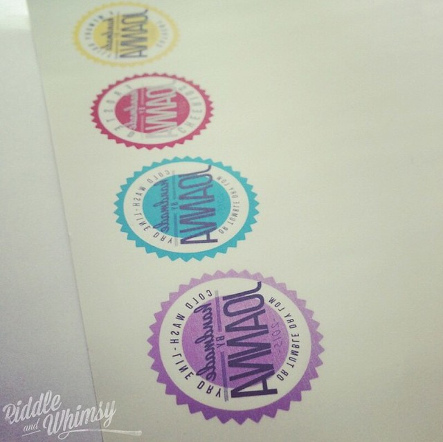Riddle and {Whimsy} Making labels 1