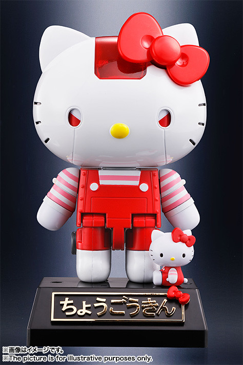 超合金 Hello Kitty 紅色版本