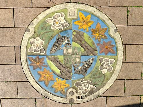 Tenkawa Nara, manhole cover (奈良県天川村のマンホール)