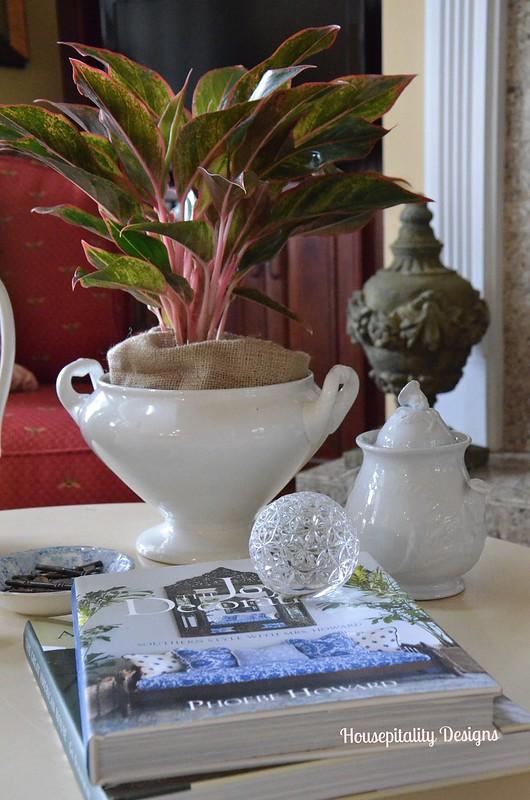Ironstone Tureen/sugar bowl-Housepitality Designs