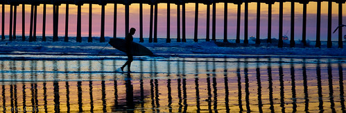 california travel winter sunset beach pier surf pacific dusk surfer silhouettes calif wharf surfboard southerncalifornia seashore huntingtonbeach 2014 hhsc2000