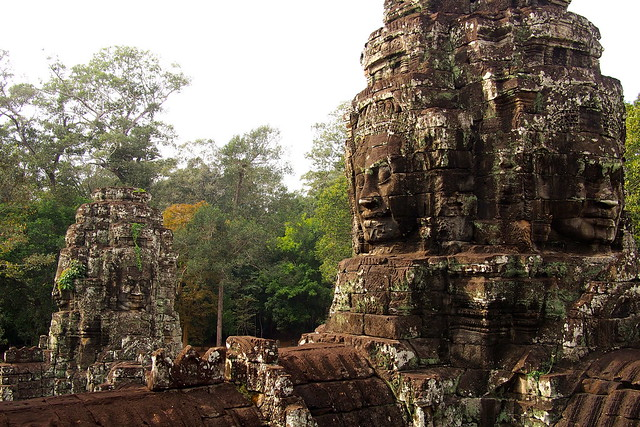 The Bayon, Siem Reap, Cambodia