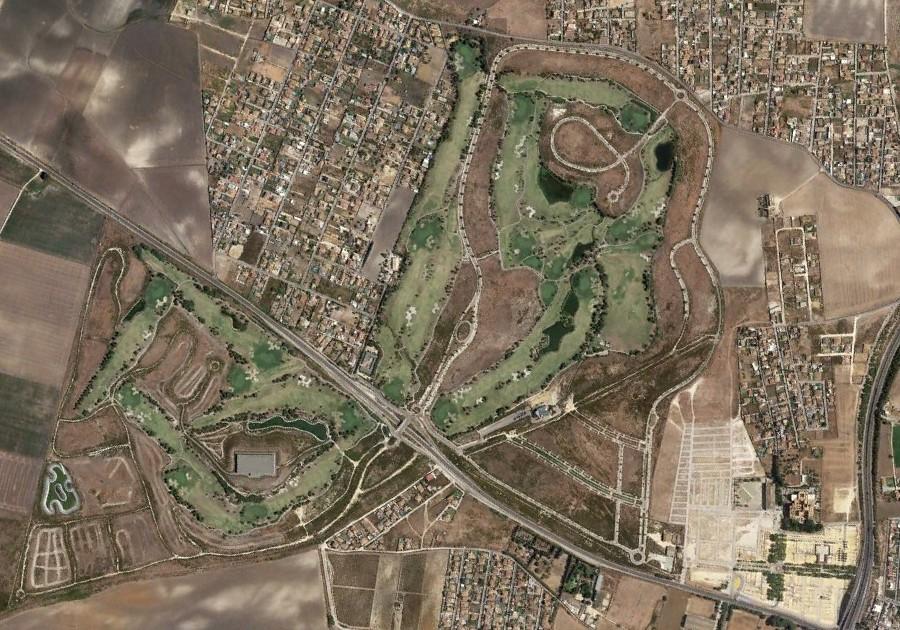 golf el puerto, cádiz, golf the port, después, urbanismo, planeamiento, urbano, desastre, urbanístico, construcción, rotondas, carretera