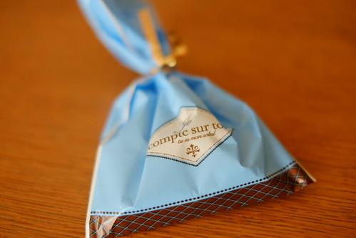 オーシャンブリッジ経営管理部メンバーからのバレンタインチョコレート