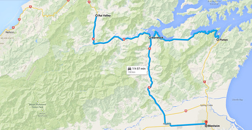 Picton to Havelock to Blenheim