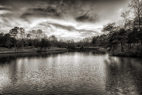 sunset blackandwhite lake reflections landscape photography twilight raw northcarolina gastonia heatherlock dorameulman