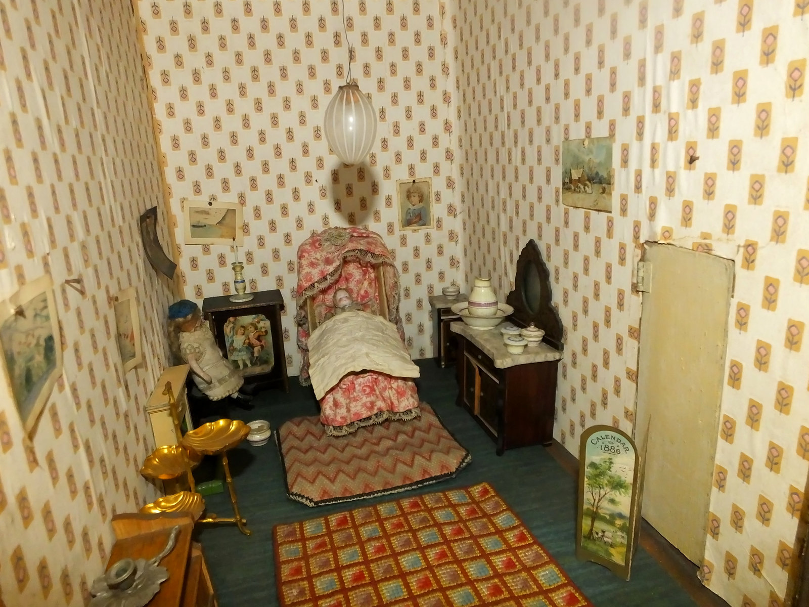 Constance Dahl's 1882 Dolls House. Credit Clem Rutter