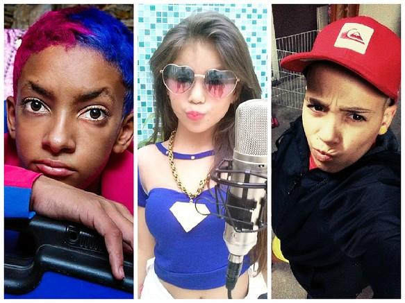 crianças do funk