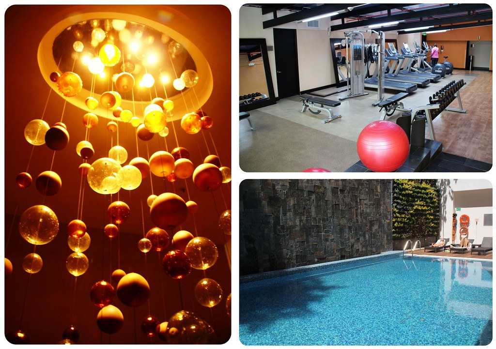 Hilton Hotel Bogota Gym and pool