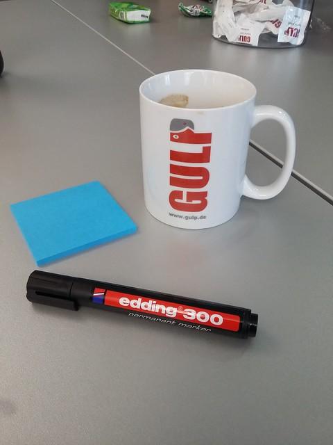 Wichtigste Arbeitsmaterialien für einen Lean Coffee