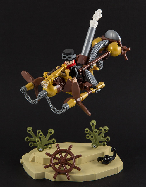 Steampunk Twin Propeller