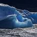 Blue diamond on Lake Argentino by marko.erman