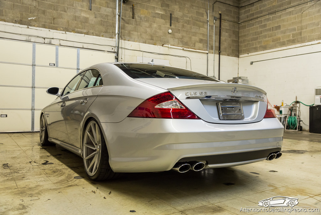 2008 CLS 63 AMG finished photo - back 1