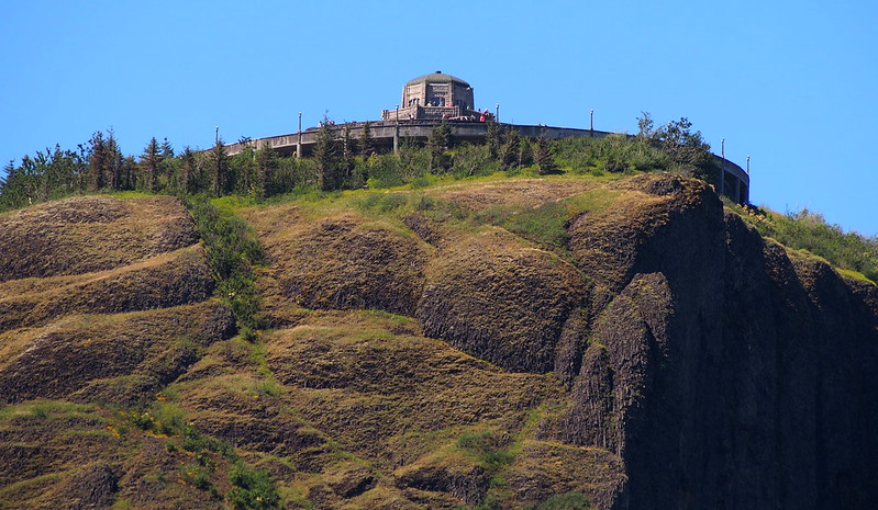 Vista House from Afar: I was up there only a couple days ago!