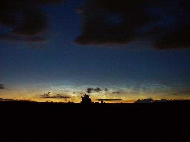 Noctilucent clouds 2016 (enhanced brightness)