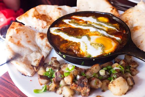 Lamb Kofta Baked Eggs @ Mango Shiva