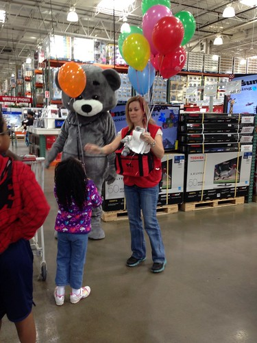 Make-A-Wish Foundation Bear at Costco