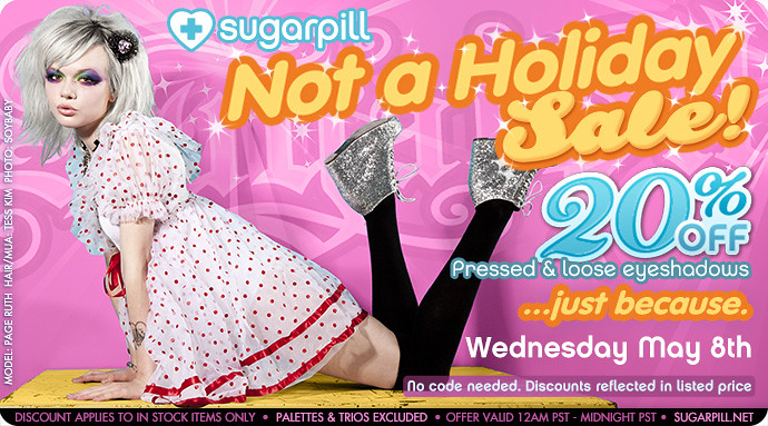 sugarpill not a holiday sale