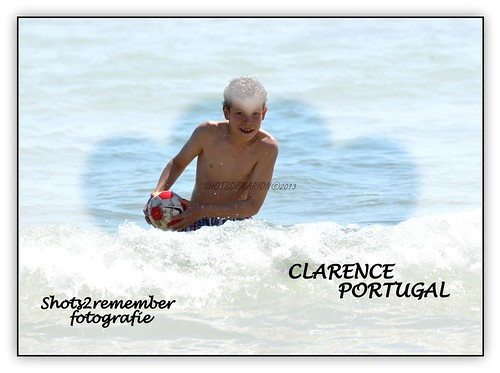Our son Clarence enjoying in Portimäo Portugal / Onze zoon Clarence genietend in Portimäo  Portugal